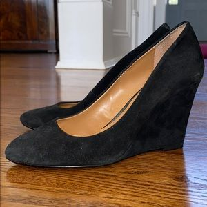Banana Republic Suede wedges